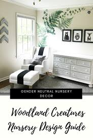 Woodland Creatures Nursery Decor For Baby Boy Girl — First