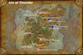 Wow Map Wow Rare Spawns Isle Of Thunder Rare Spawns