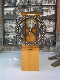 clock made of clocks vintage time clock vintagetimeclock vintage timeclock ibm