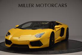 lamborghini dealership 2015 lamborghini aventador lp 700 4 roadster stock 7284 for sale