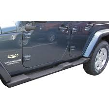 wrangler jeep 4 door black mopar 82210571ad wrangler jk side step black plastic pair 2007
