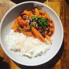 cuisiner les haricots coco plat parfumé haricots rouges carottes coco recettes