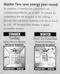 Ceiling Fans With Heaters by Home Energy Magazine Getting The Most From Your Fan