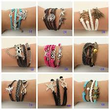 bracelet styles images 2015 new styles infinity girls bracelets friendship hand knitting jpg
