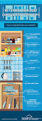 Organize Kitchen Cabinet Easy Ways To Organize Your Kitchen Cabinets Sears Home Services