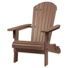 Patio Armchair Buy Adirondack Patio Chair From Bed Bath U0026 Beyond