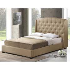 Platform Bed Canada Baxton Studio Bedstudio Upholstered Platform Bed Baxton Studio Bed
