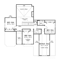 vaulted ceiling floor plans country style house plan 5 beds 4 baths 2942 sq ft plan 929 888