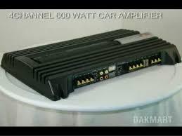 sony xplod xm zr604 4 channel 600 watt car amplifier xmzr604