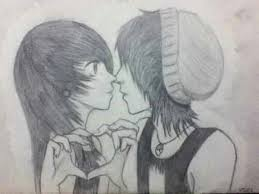 emo couple drawing best images collections hd for gadget windows