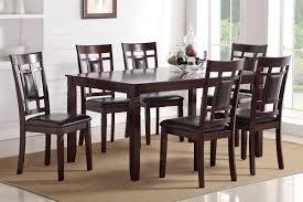 poundex associates item f2294 7 pcs dining table set