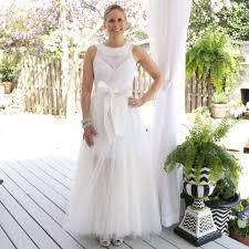 wedding skirt tulle skirt overlay white bridal skirt periwinkle boutique
