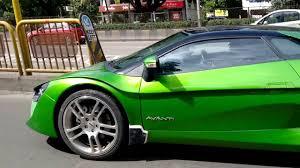 dc avanti in green the indian lambo youtube