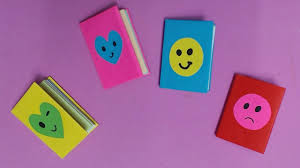 color paper how to make mini notebook with color paper diy paper mini