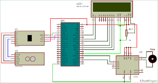 raspberry pi based weight sensing automatic gate using load cell