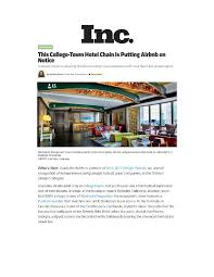 graduate hotels news stories u0026 press