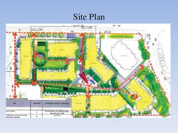 building site plan study of planning of building