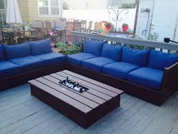 Patio Pallet Furniture by Ana White Pallet Style Outdoor Platform Sectional Variation