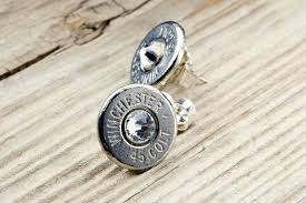 bullet stud earrings bullet stud earrings bullet earrings 45 colt nickel bullet