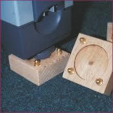 Desk Risers Uk Desk Riser Height Adjustment T Blocks Set Of 4 X 25mm Osmond Group