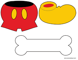 mickey mouse photo booth props instant mickey mouse friends clubhouse inspired