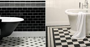 Black White Bathroom Tile Victorian Tiles For Vintage Victorian And Turn Of The Century