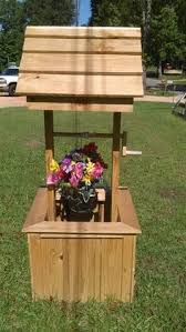 60 inch pine wishing well yard and garden ornament 154 00 via