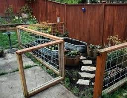little gated container garden great way to make a garden in