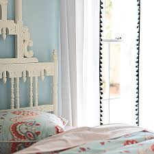 Tassel Curtain Molly Makes The Look For Less Serena And Lily French Tassel Curtains
