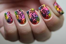 manicure and pedicure nail art images cool toe nail art design