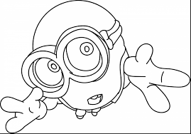 stunning cute minion coloring pages minion coloring pages
