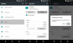 disable app android how to disable bloat apps on android devices without root