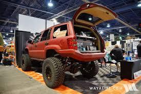built jeep cherokee 2016 sema armadillo liner jeep wj grand cherokee