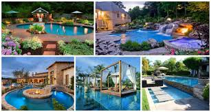 16 garden and backyard swimming pool stepping ideas that you dream for