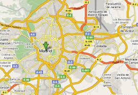 madrid spain map driving in madrid