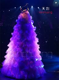 tc 119 led dress led light costume led costumes led clothes led