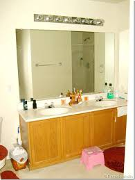 bathroom mirror repair bathroom mirror replacement cost how much does a find best charming