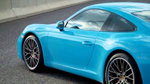 miami blue porsche gt3 rs 2016 porsche 911 carrera s miami blue footage youtube