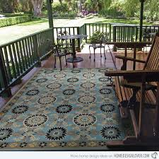 Outdoor Throw Rugs 18 Decorative Outdoor Area Rugs Home Design Lover