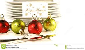 closeup of christmas place card holders stock photo image 7171478