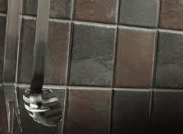 Brown Gray Metal Slate Backsplash by 30 Amazing Design Ideas For A Kitchen Backsplash