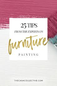 25 furniture painting tips for the experts