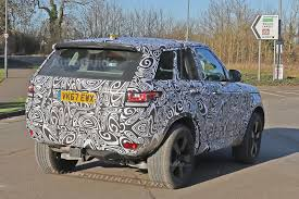 new land rover defender here u0027s the first photographic evidence a new land rover defender