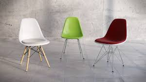 vitra eames plastic side chair dsw dsk dsx 3d model c4d