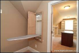 ironing board closet cabinet walk in closet design layout and storage ideas