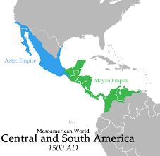 Mayan Empire Map What If Mesoamericans Developed Gunpowder Alternate History