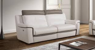 canapé cuir bicolore canape cuir bicolore relax canapé idées de décoration de maison