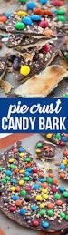 pie crust bark crazy for crust