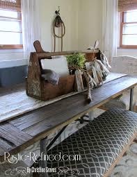 Rustic Farmhouse Dining Room Tables Rustic Farmhouse Table Centerpiece Rustic U0026 Refined