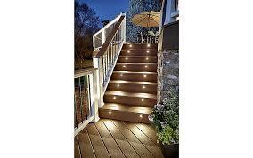 trex post cap lights deck lighting post lights led step stair lights trex